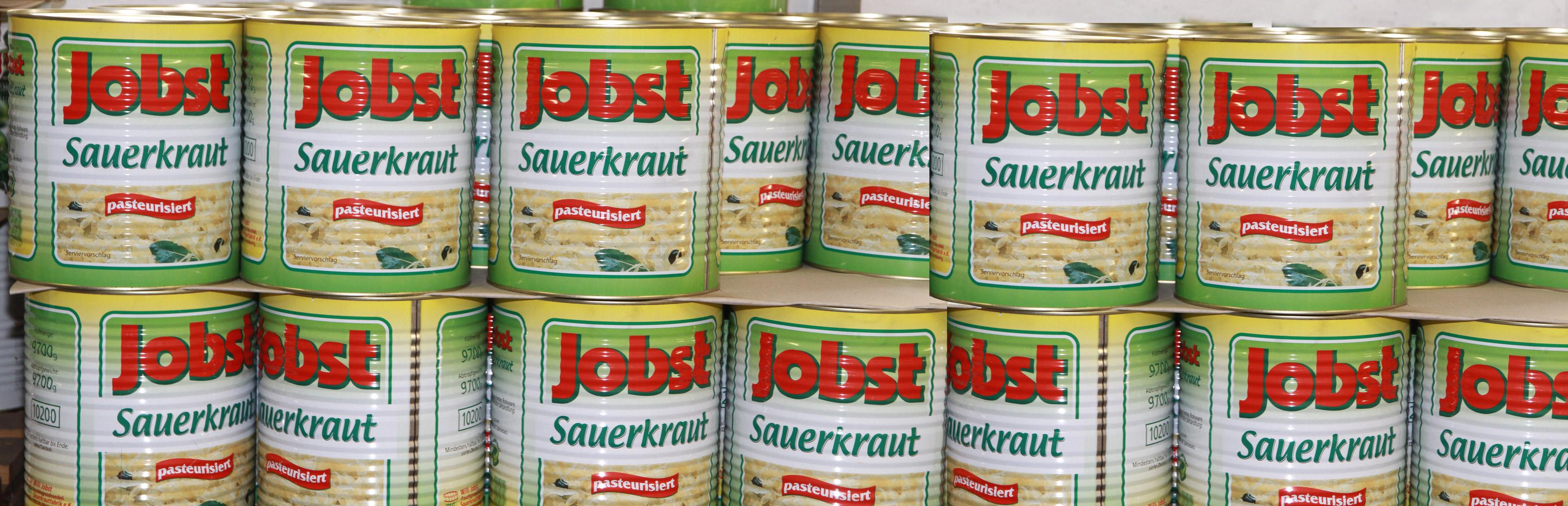 Sauerkraut von Jobst Sauerkrautfabrik
